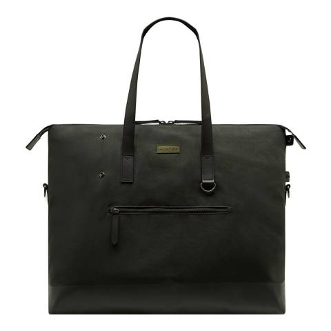 Hunter Dark Olive Canvas Moustache Weekender