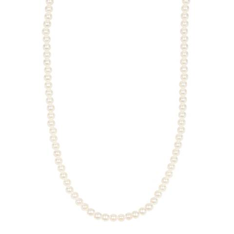 White label by Liv Oliver 18K Gold Pearl Classic Necklace