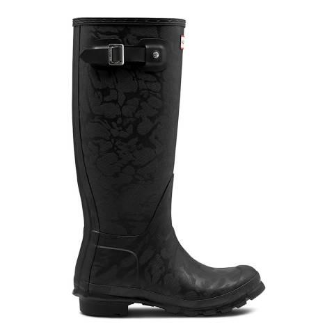 Hunter Black Original Insulated Tall Boots