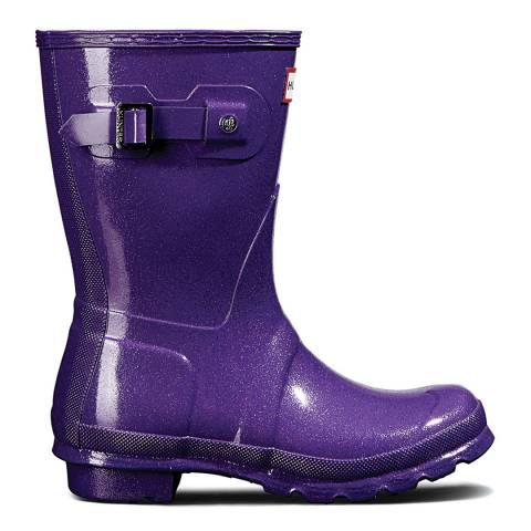 Hunter Purple Original Starcloud Short Boots