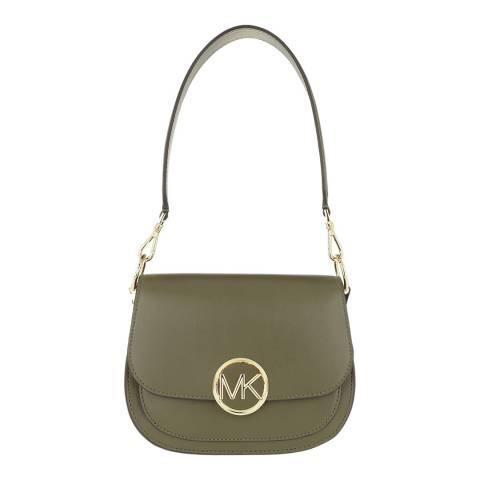 Michael Kors Olive Lillie Small Saddle Bag