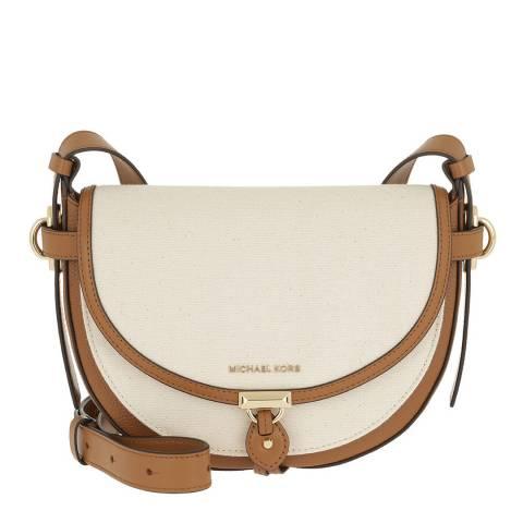 Michael Kors Brown/Natural Michael Kors Crossbody Bag
