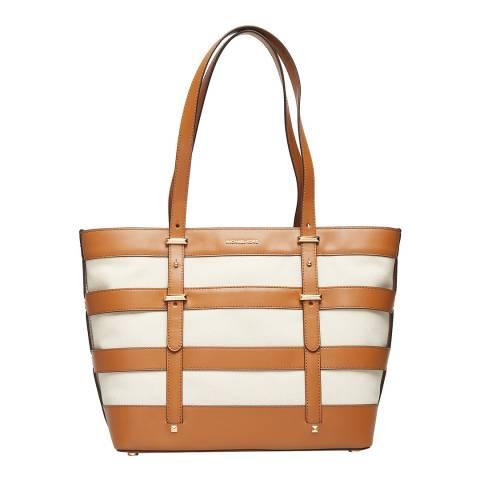 Michael Kors Tan/Cream Michael Kors Tote Bag