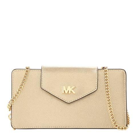 Michael Kors Women's Michael Kors Pale Gold Crossbody Bag