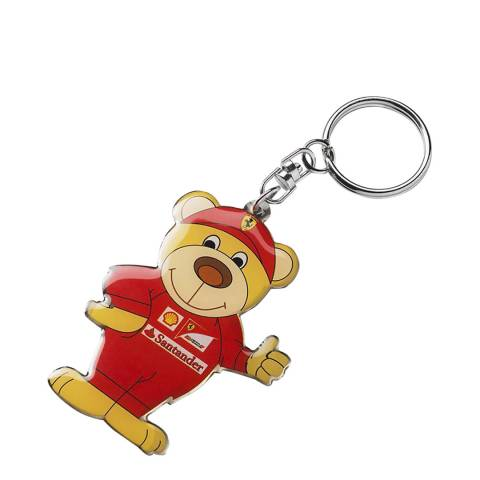 Scuderia Ferrari Multi Teddy Key Ring