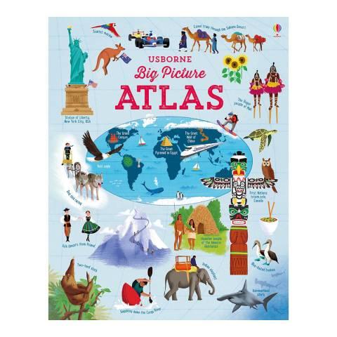 Usborne Books Big Picture Atlas