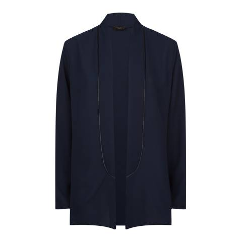 James Lakeland Navy Relaxed Tailored Jacket