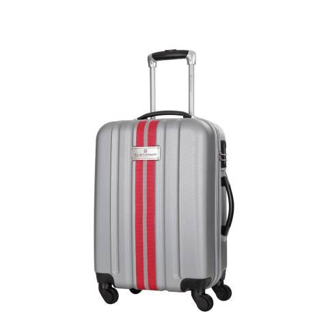 Platinium Silver Manzana 4 Wheeled Suitcase 50cm