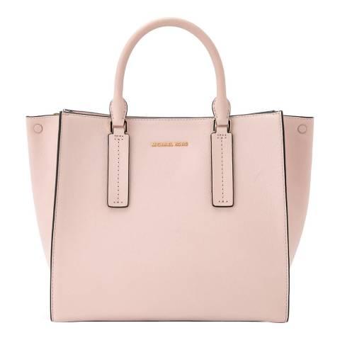 Michael Kors Soft Pink Alessa Large Satchel Bag