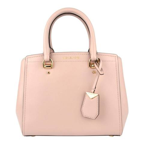 Michael Kors Soft Pink Benning Medium Satchel Bag