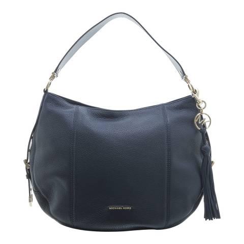 Michael Kors Navy Brooke Tote Bag