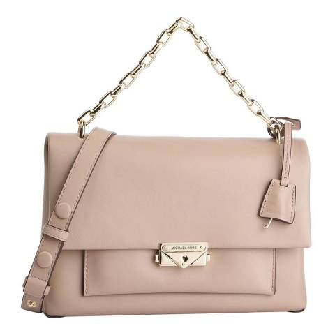 Michael Kors Truffle Cece Large Leather Shoulder Bag