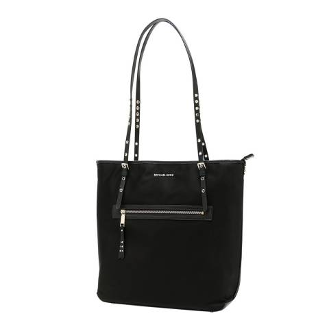 Michael Kors Black Leila Large Tote Bag
