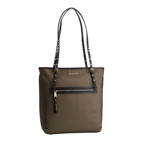 Michael Kors Olive Leila Large Tote Bag