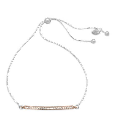 Chloe Collection by Liv Oliver Silver Plated Bracelet