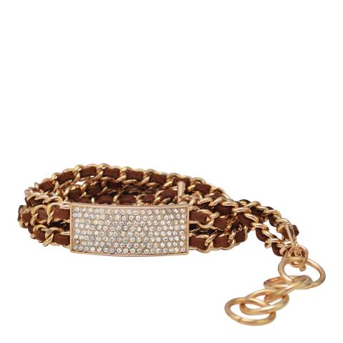 Chloe Collection by Liv Oliver Gold Plated Bracelet