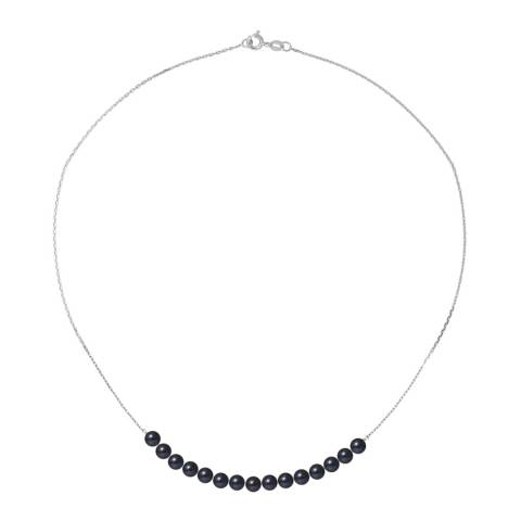 Mitzuko White Gold Necklace with Real Cultured Freshwater Pearls