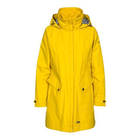 Trespass Women's Gold Rainy Day Jacket