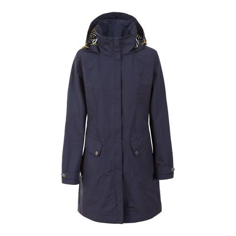 Trespass Women's Navy Rainy Day Jacket