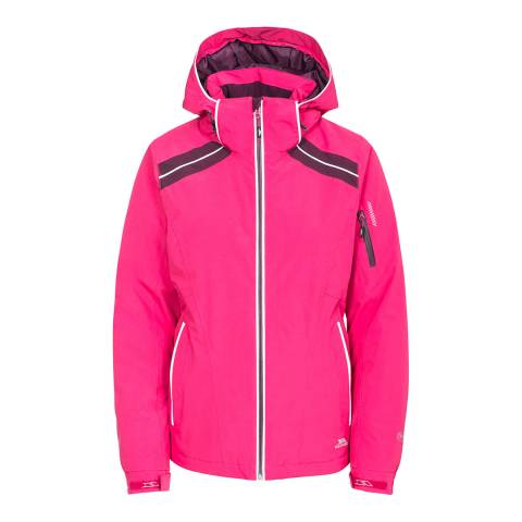 Trespass Women's Pink Raithlin Ski Jacket