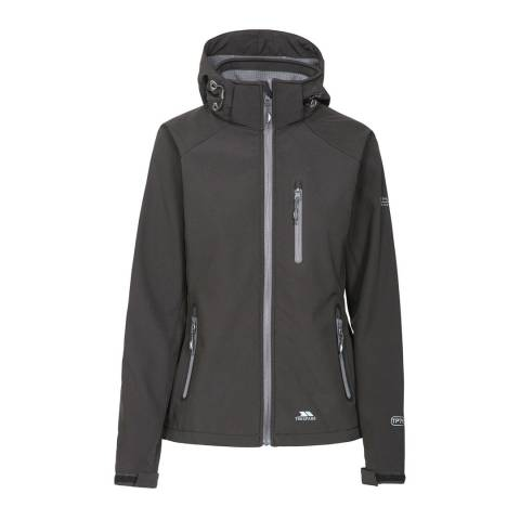 Trespass Black Bela II Softshell Jacket