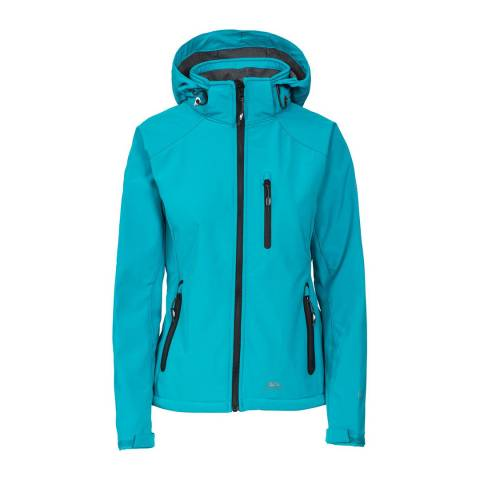 Trespass Turquoise Bela II Softshell Jacket