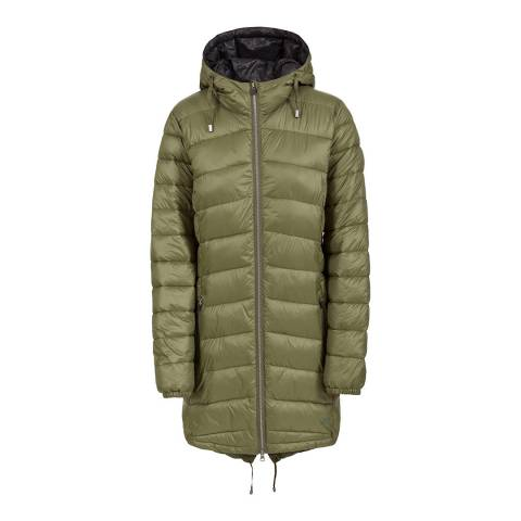 Trespass Women's Green Ruin Padded Jacket