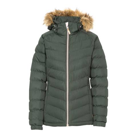 Trespass Women's Green Nadina Padded Jacket