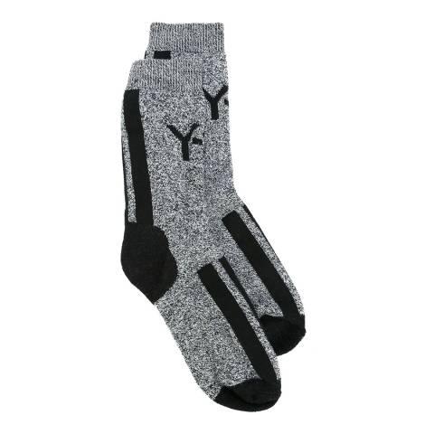 adidas Y-3 Grey Y-3 Logo Ankle