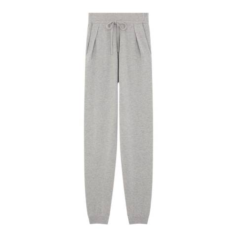 Rodier Light Grey Cashmere Mix Trouser