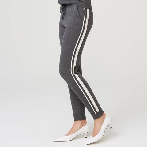 Rodier Dark Grey Cashmere Mix Trouser