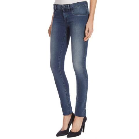 Diesel Blue Denim Livier Stretch Skinny Jeans