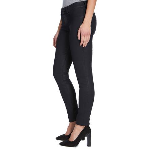 Diesel Coated Black Livier Skinny Stretch Jeans