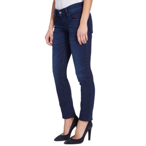Diesel Rich Blue Grupee Skinny Stretch Jeans