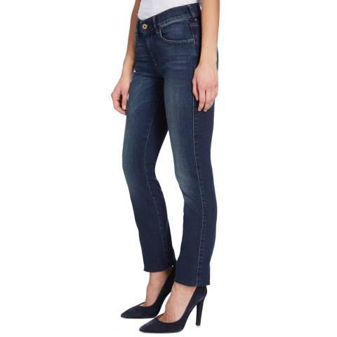 Diesel Dark Denim Sandy Straight Stretch Jeans
