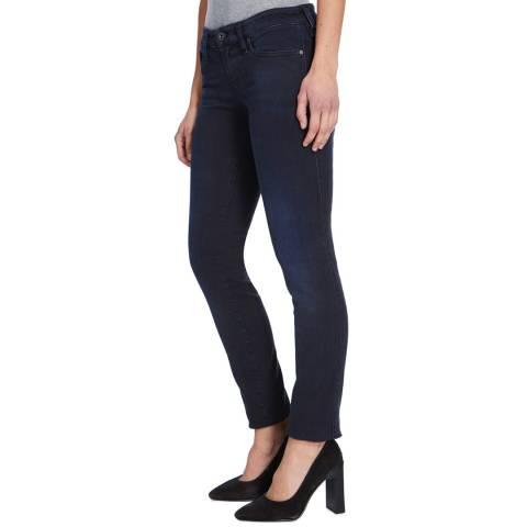 Diesel Indigo Skinzee Low Rise Skinny Stretch Jeans