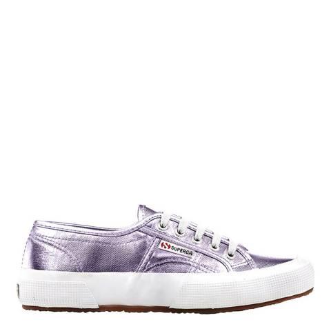 Superga Violet Lilac Metallic 2750 Sneakers