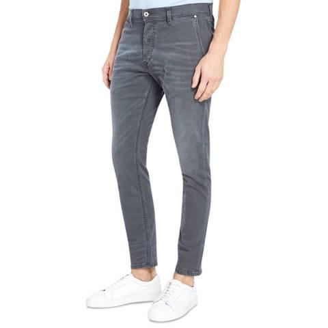 Diesel Dark Grey Kakee Slim Stretch Jeans