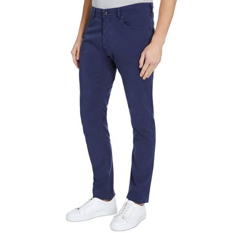 Diesel Blue Tepphar Tapered Stretch Jeans