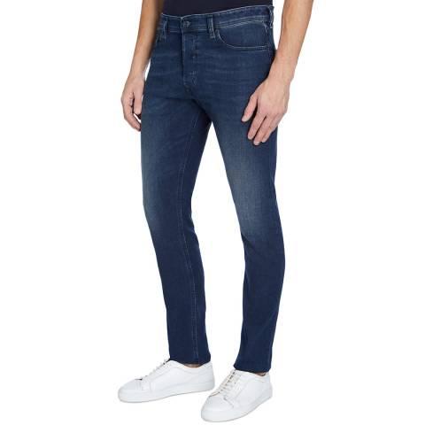 Diesel Indigo Tepphar Slim Stretch Jeans