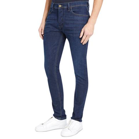 Diesel Dark Blue Tepphar Slim Stretch Jeans