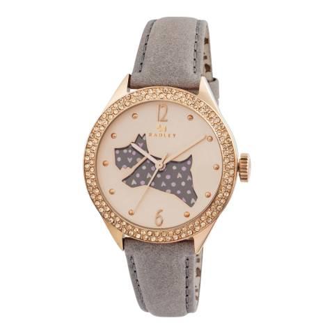 Radley Rose Gold Dial & Marsupial Strap Watch
