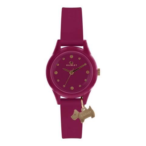 Radley Gloss Magenta Dial & Magenta Strap Watch