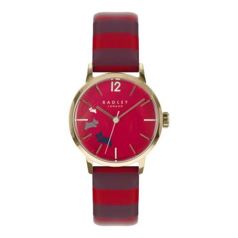 Radley Claret Gloss Dial & Claret Strap Watch