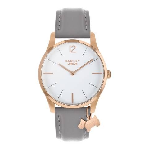 Radley White Dial & Ash Strap Watch