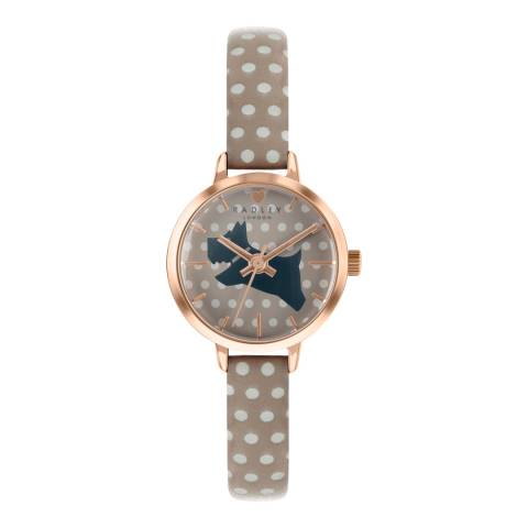 Radley Mink Dial & Strap Rose Gold Watch