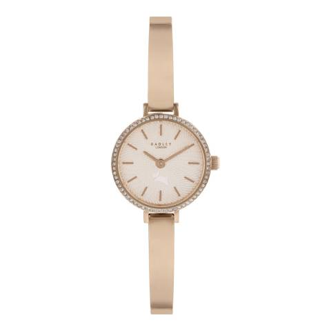 Radley Pale Rose Gold Satin Dial & Bracelet Watch