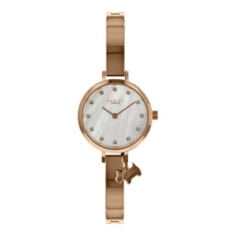 Radley Mother of Pearl Rose Gold Bracelet Watch