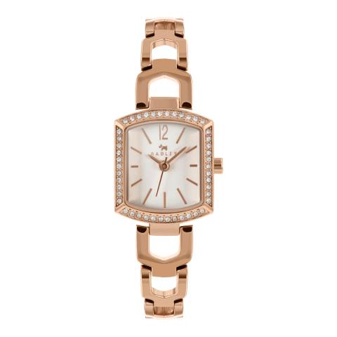 Radley White Dial & Rose Gold Bracelet Watch