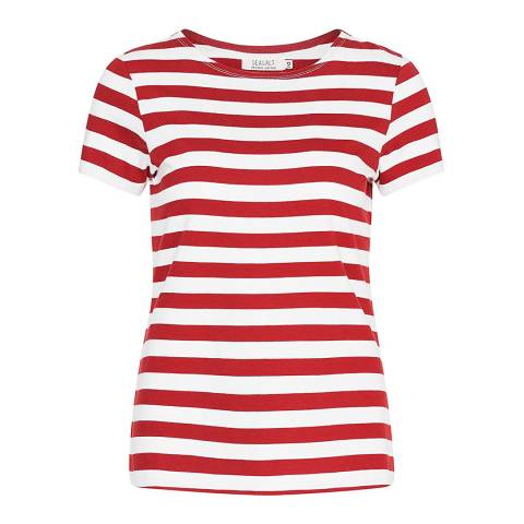 Seasalt Red Sailor T-Shirt